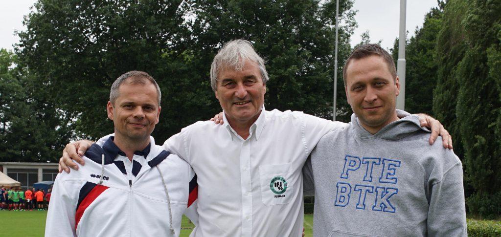 Trainer aus Ungarn, László Damina und Zsolt Szavai