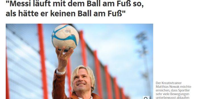 Matthias Nowak – Großer Bericht in der Süddeutschen Zeitung