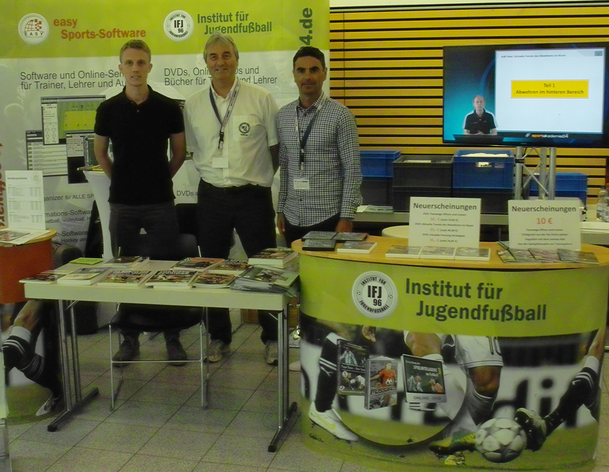 Athanasios Terzis with Steven Turek and Peter Schreiner at the International Congress 2016 in Germany
