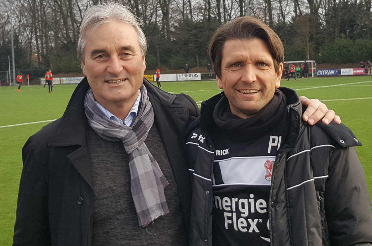 Peter Schreiner trifft 2017 Peter Hyballa beim NEC Nijmegen (Niederlande)