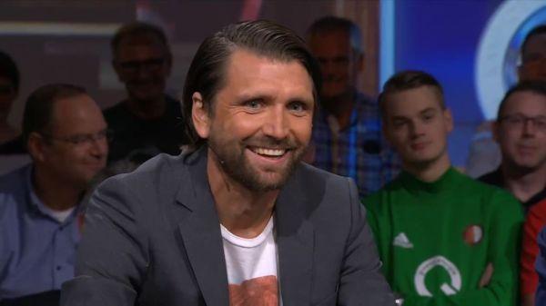 Peter Hyballa, ein gefragter Gast in Talkshows und Fußballsendungen im Fernsehen