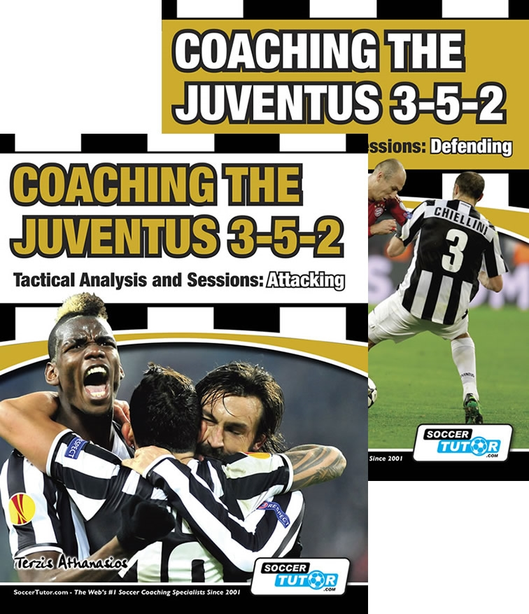 Coaching Juventus 3-5-2 Defending and Attacking